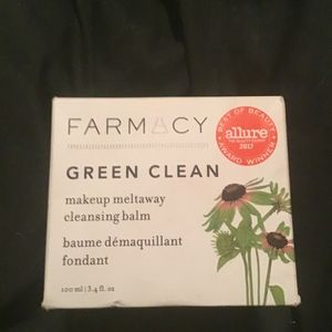 Farmacy green clear, makeup meltaway balm, real